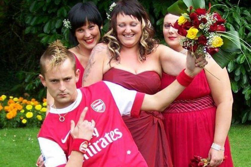 Arsenal Fan Gets Married in Full Kit KICKTV