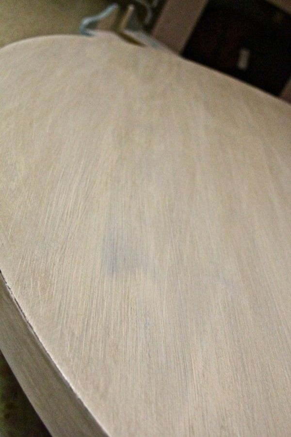 Annie Sloan Chalk Paint Dining Table With Old White And A