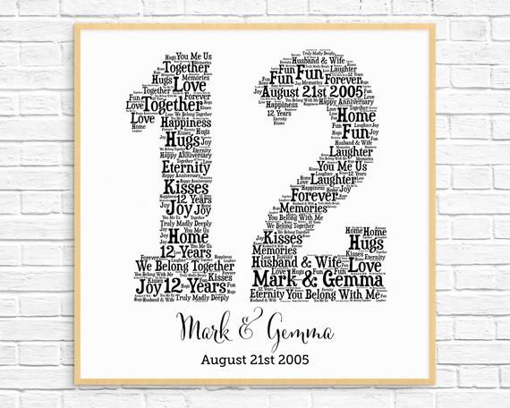 HEART WORD ART PERSONALISED WALL DECORATION OVER 80 DESIGNS AVAILABLE P/&P!