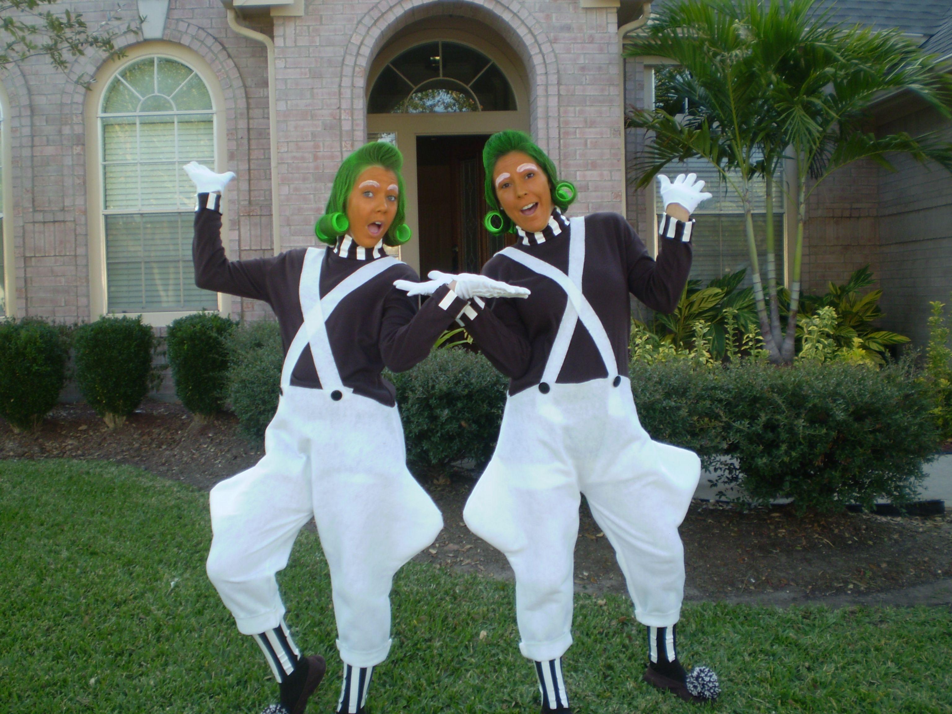 halloween ideas willy wonka oompa loompa costume - Oompa Loompa Halloween