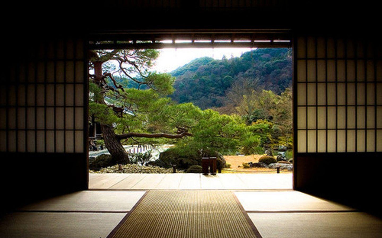 Don T We All Wish Zen Wallpaper Dojo Design Traditional Japanese House