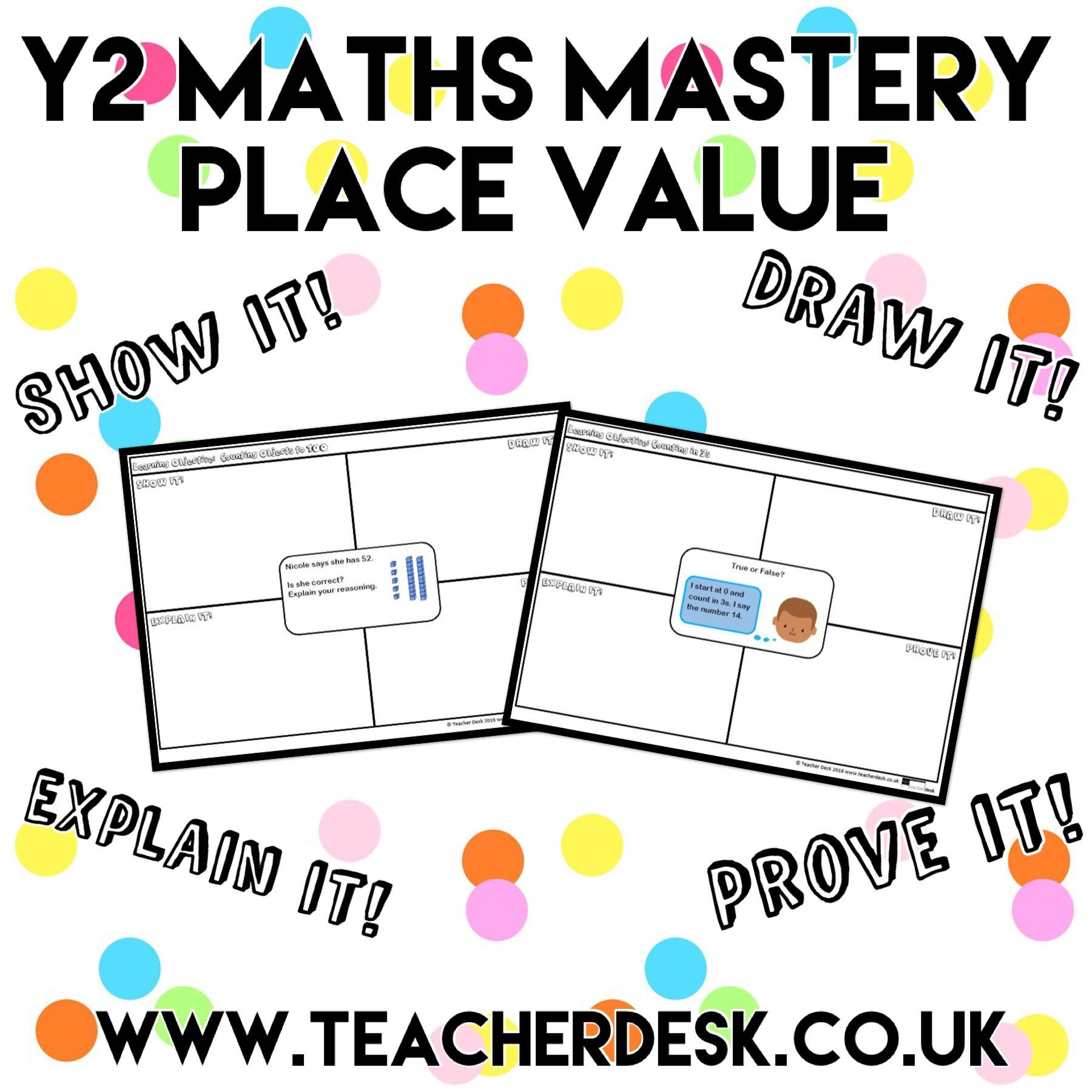 Y2 Maths Mastery Place Value Teacher Desk Teacherdesk