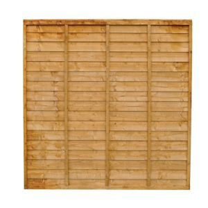 Premier Lap Premier Wood Lap Fence Panel W 1 83 M H 1