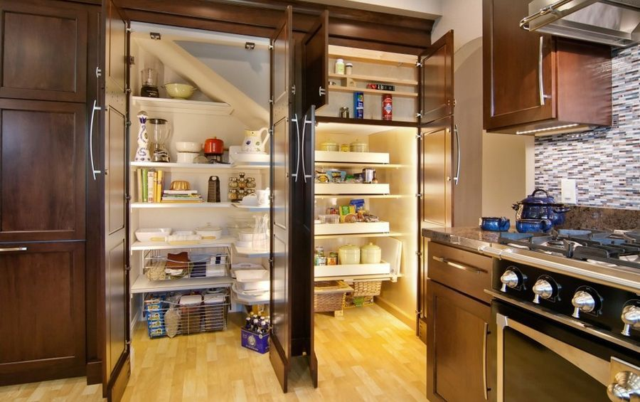A Diversity Of Door Styles To Hide Your Pantry With Pantry Design Kitchen Pantry Design Built In Pantry