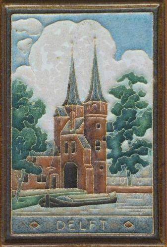 Porceleyne Fles Delft Tile Zierikzee Pottery & Glass