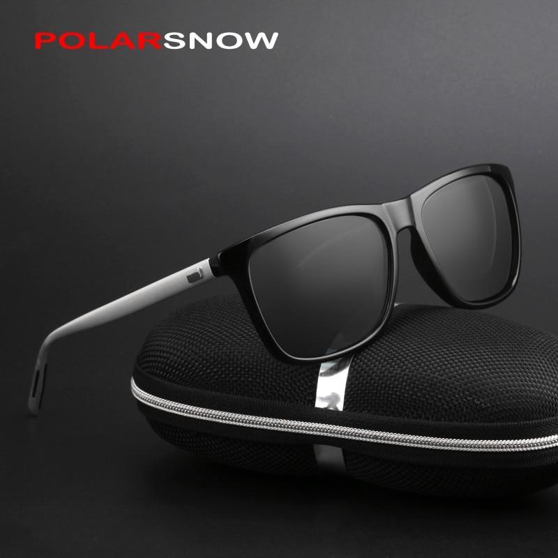 c37088676e Aluminum+TR90 Sunglasses Men Polarized Women Men Vintage Eyewear Driving Sun  Glasses