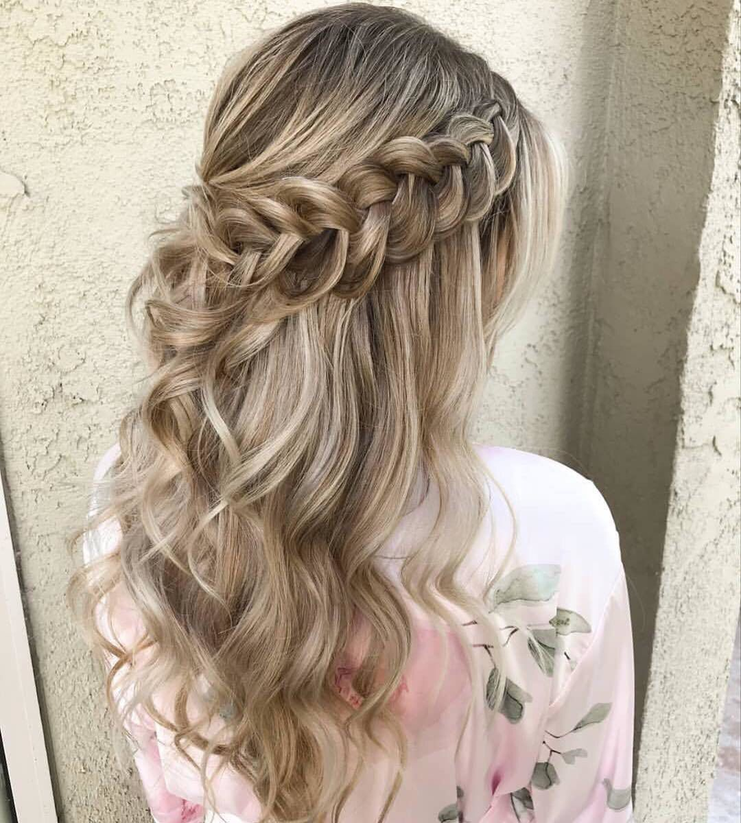 Something Special Braided Hairstyles For Wedding Medium Hair Styles Wedding Hair Down