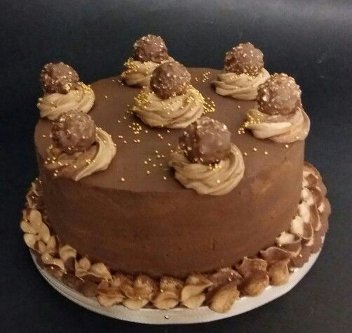 Chocolade Ferrero taart