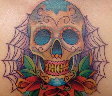 Tatto calavera mejicana