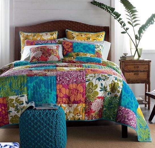 Bedroom Sets Hawaii hand made hawaii style quilt 3pcs bedding set quilt: king size