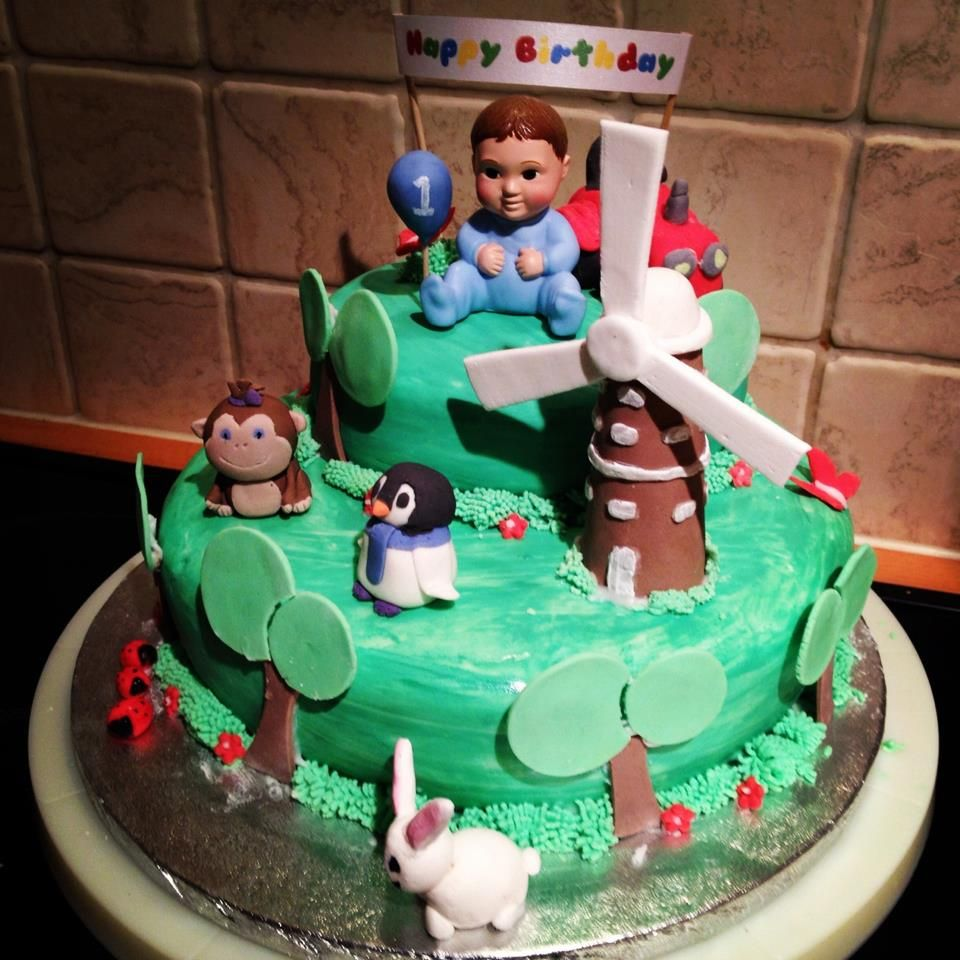 Baby Jake Birthday Cake Baby Jake cake ideas Pinterest