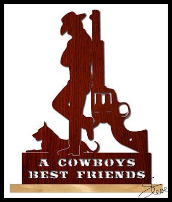 A Cowboys Best Friends Scroll Saw Pattern Scroll Saw Pinterest