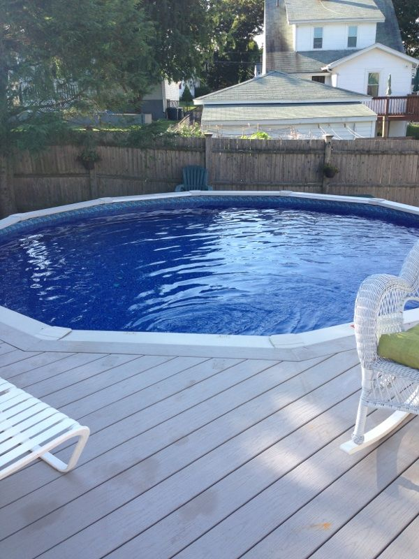 Pin by Above Ground Pool Builder on Above Ground Pool Liners ...