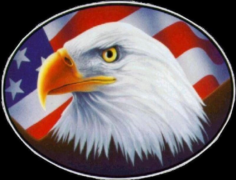 Patriotic Clip Art eagleflag4.jpg American flag clip