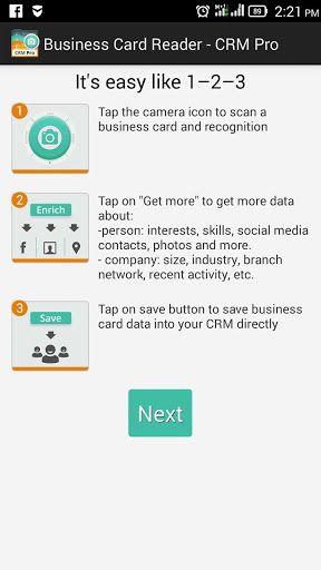 Business Card Reader Crm Pro V1 1 56 Business Card Reader Crm Pro V1 1 56requirements 2 3 3 And Upovervi Business Card App Card Reader Business Card Info