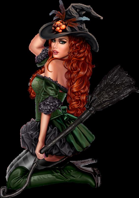 Красивые открытки ведьмочки, сделать открытку