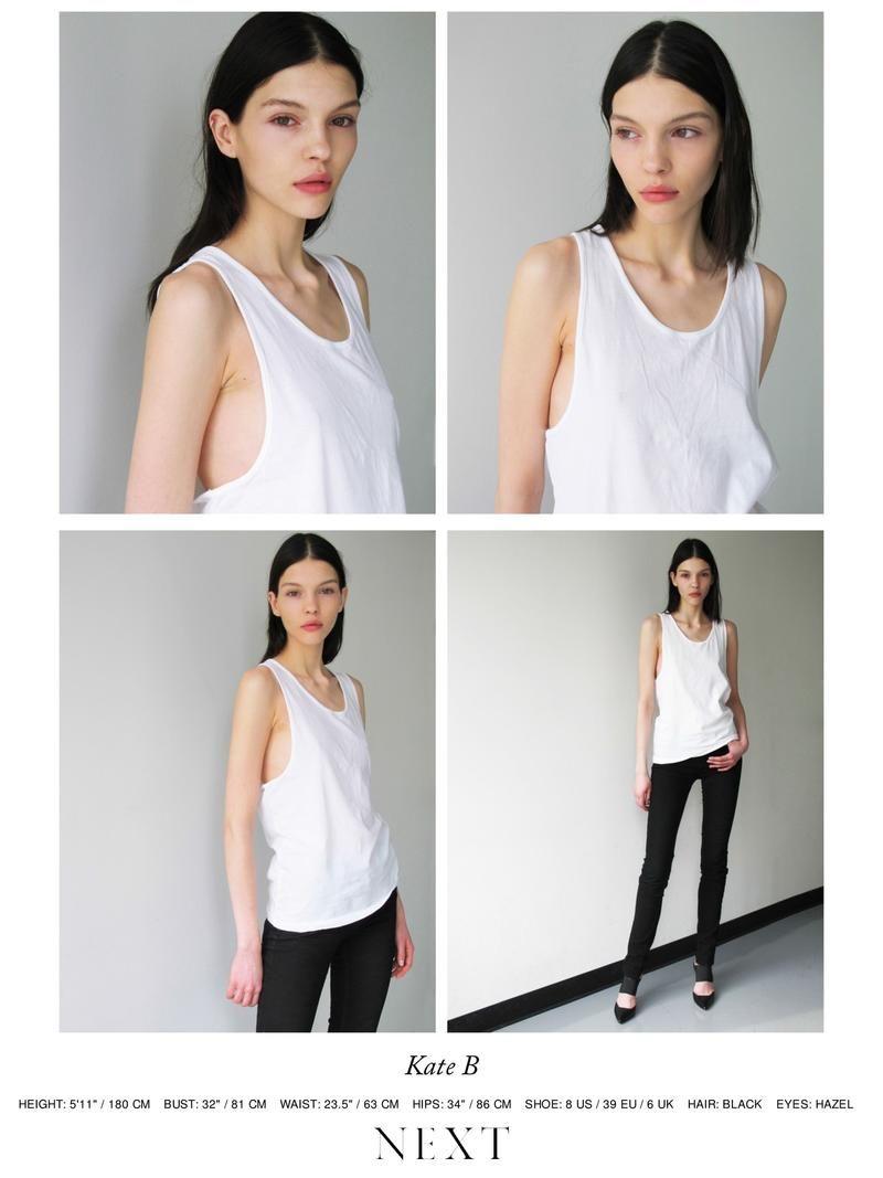 d70518572cac4 Polaroids Digitals - Next Models NY F W 14 Polaroids Portraits ...