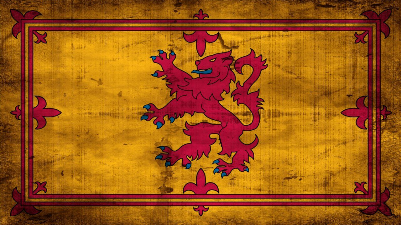 Grunge Scottish Royal flag | Tuatha De Danann | Pinterest