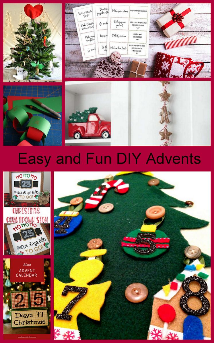 Diy Advent Calendars And Block Party Christmas Crafts Diy Diy Advent Calendar Christmas Crafts