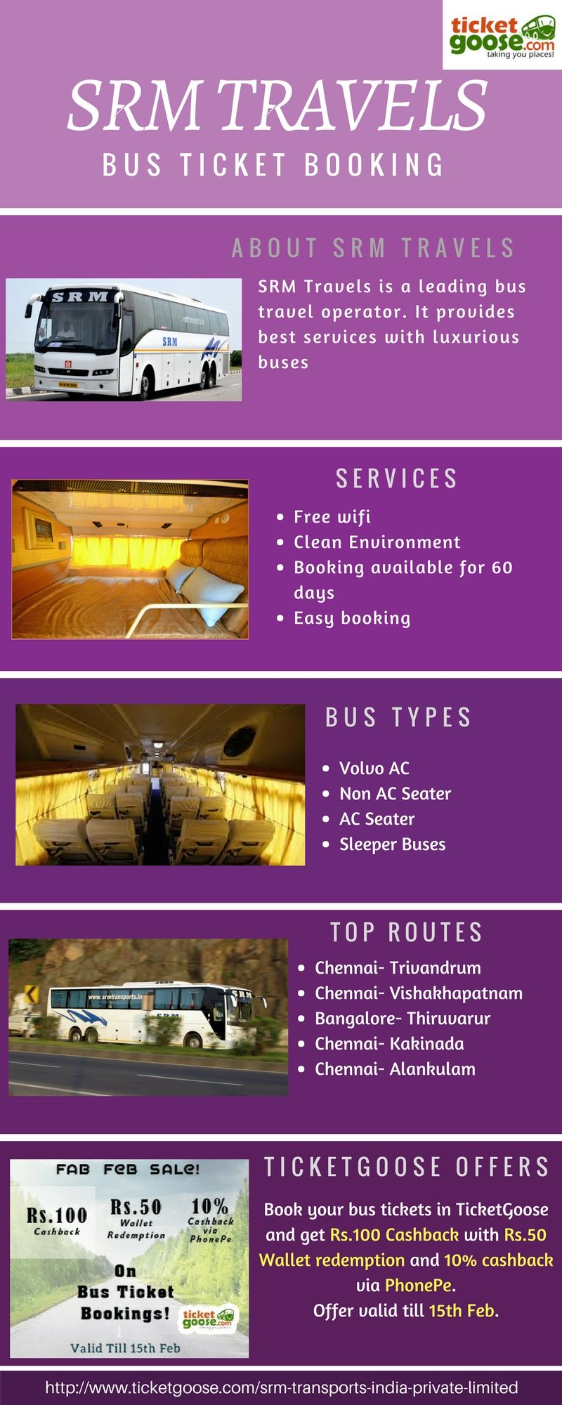 Pin By Ticketgoose On Srm Travels With Images Bus Tickets Bus