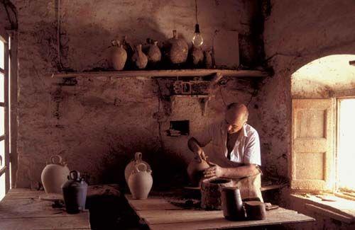 Ceramista de Verdú