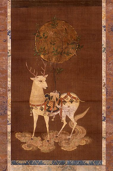 春日鹿曼荼羅 | アートのアイデア, アジアのアート, 曼荼羅