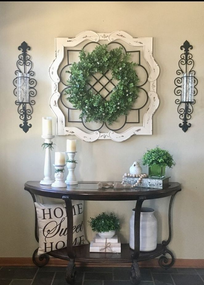 Entry Table At Home