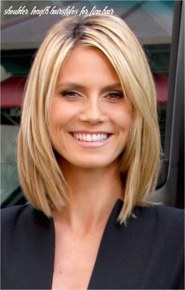 9 Shoulder Length Hairstyles For Fine Hair Medium Bob Hairstyles Medium Hair Styles Medium Length Hair Styles