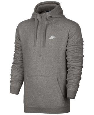 Nike Sportswear Plus Size Club Fleece Full Zip Hoodie Dark