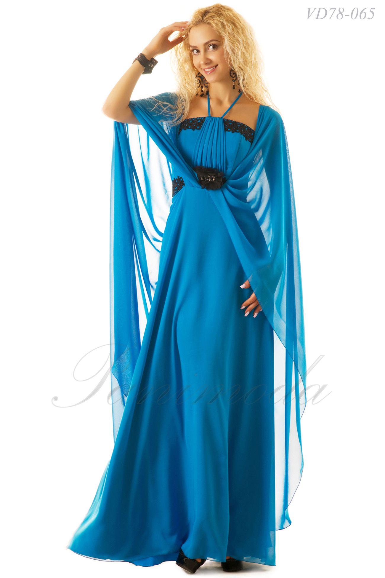 0a95d92196b Длинное элегантное платье из мульти шифона