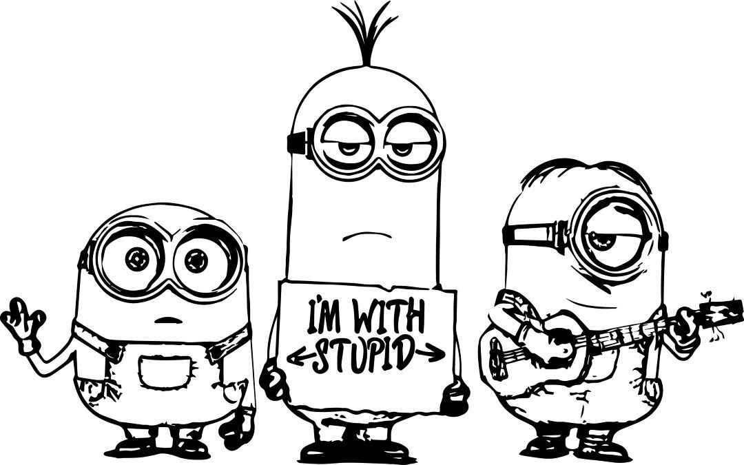 Coloring Rocks Minions Coloring Pages Minion Coloring Pages Cute Coloring Pages