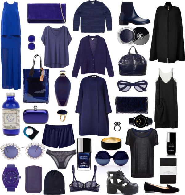 """""""I like blue things"""" by eva-swensen ❤ liked on Polyvore"""