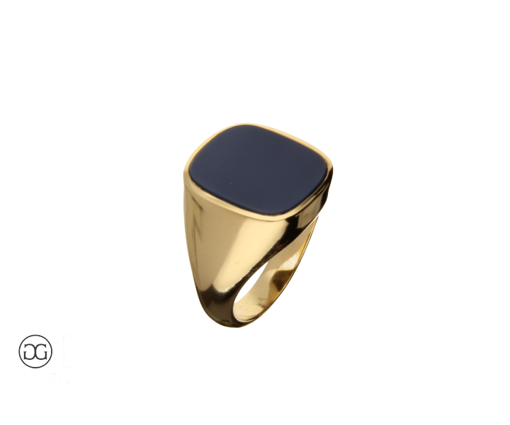 signet ring gold 750 achat  for your man  Siegelring