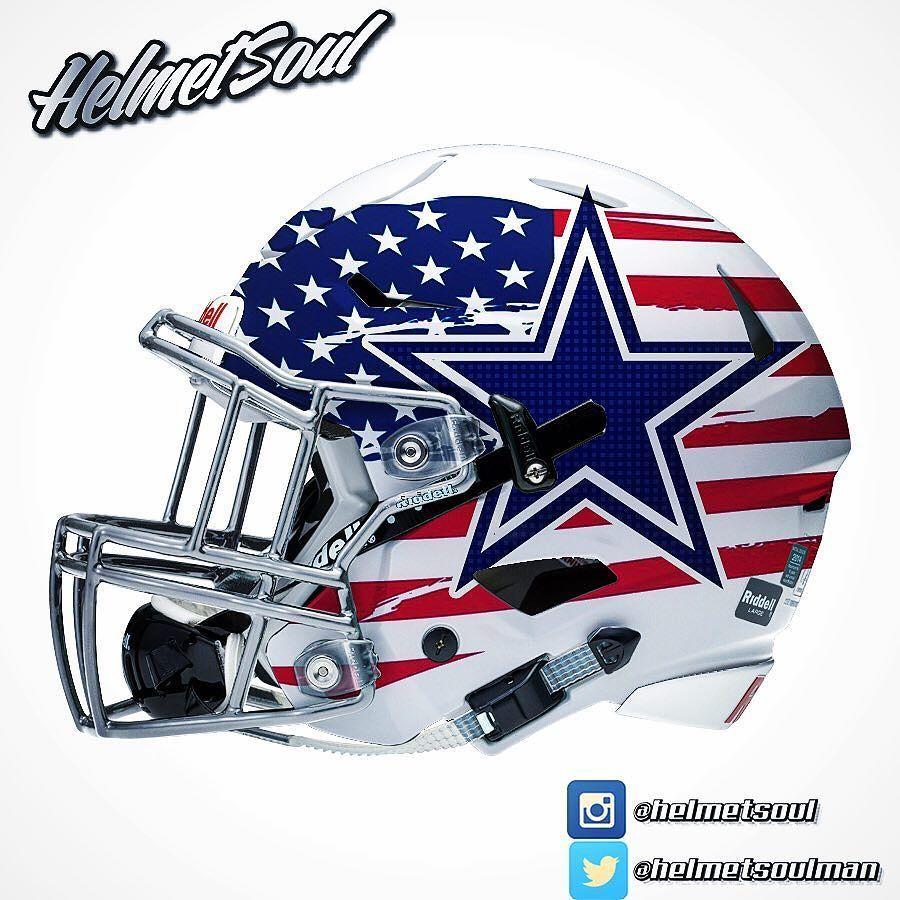 America 39 s team dallas cowboys - Dallas cowboys concept helmet ...