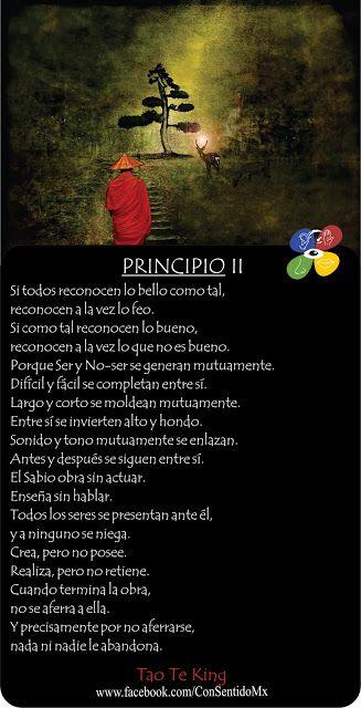Consentido Tao Te King Principio 2 Frases Yoga Frases