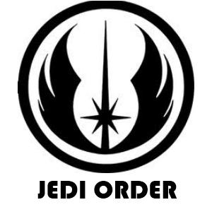 Jedi Order Star Wars Symbols Star Wars Silhouette Star Wars Tattoo