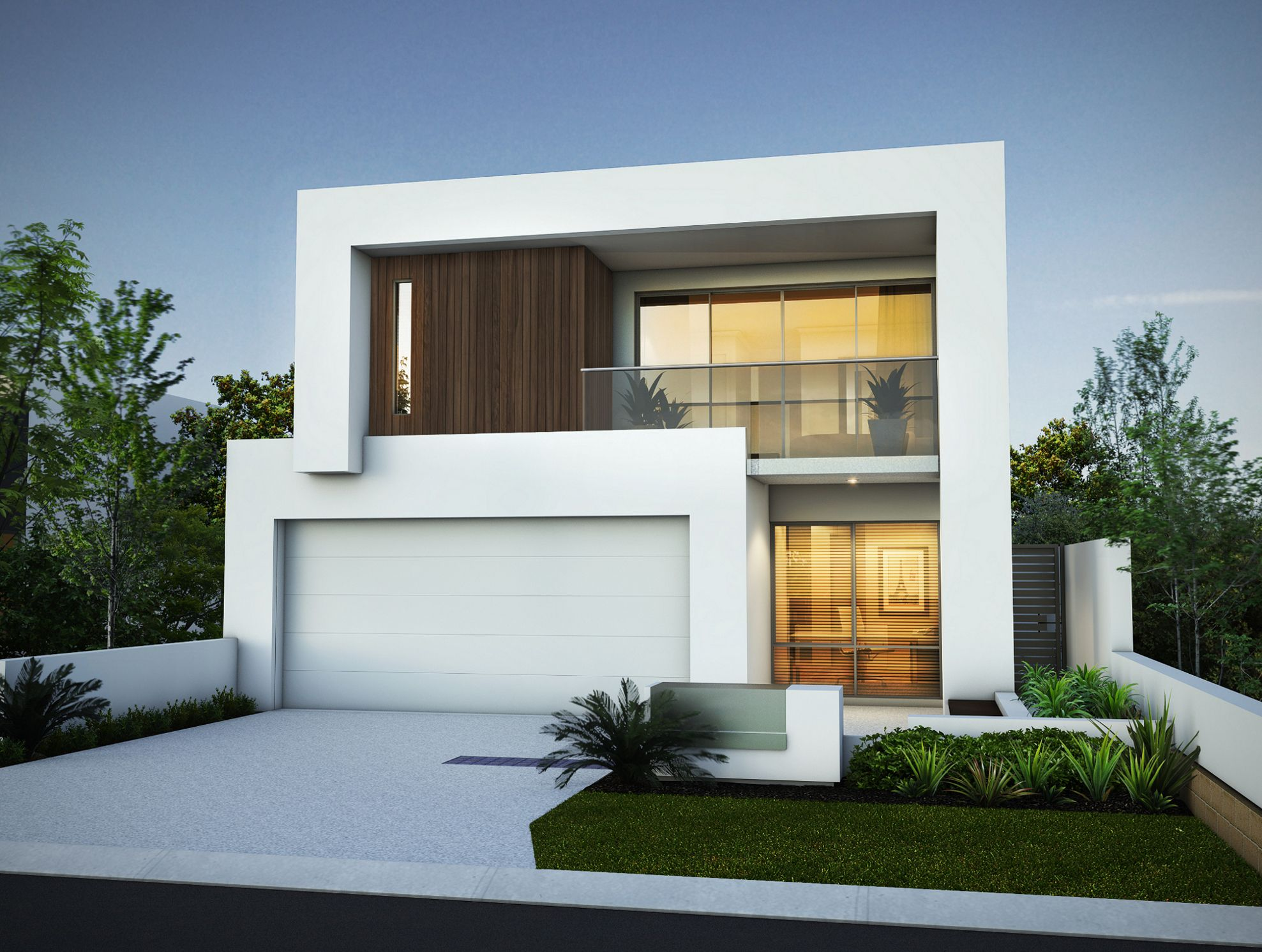 Modern house design for 200 square meter lot for Modern square house