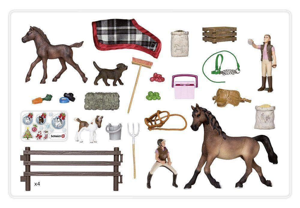 Schleich Weihnachtskalender.Schleich Advent Calendar Horses The Granville Island Toy Company