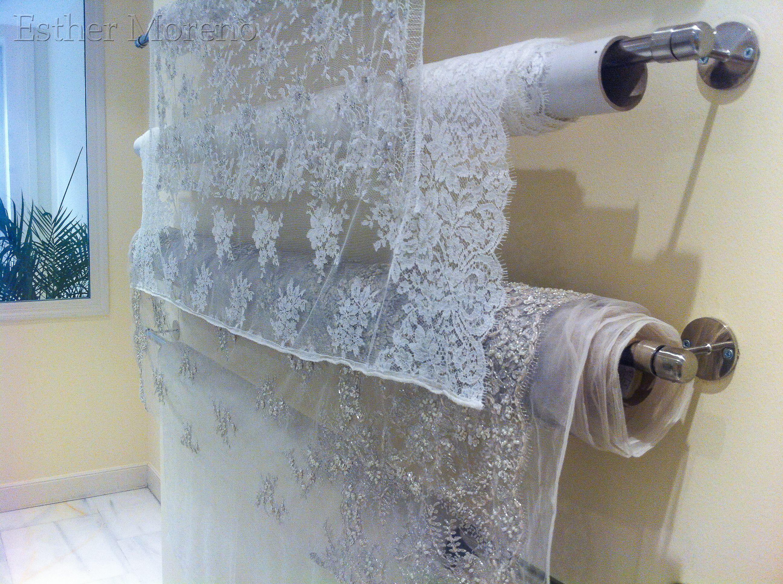 Telas de #novia, confección #costura #vestidos #bridal   Detalles y ...
