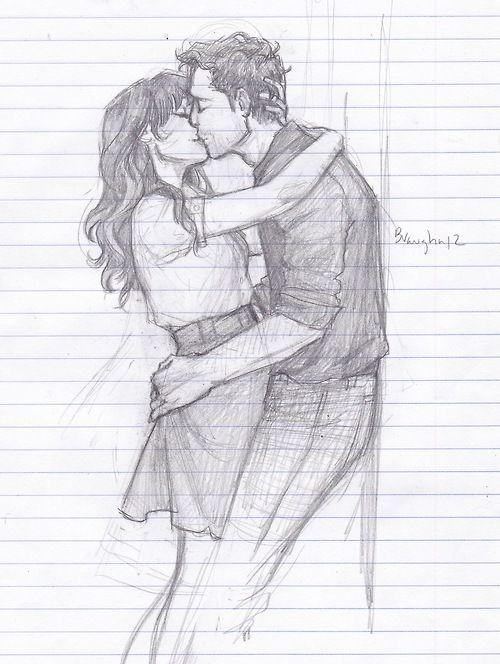 Cartoon Couple Cute Pencil Art Pencil Drawing Creative Ideas