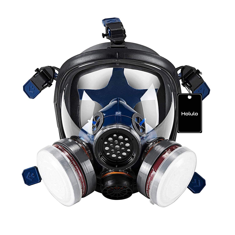 Holulo Organic Vapor Full Face Safety Respirator Masks For Sale Gas Mask Respirator Mask