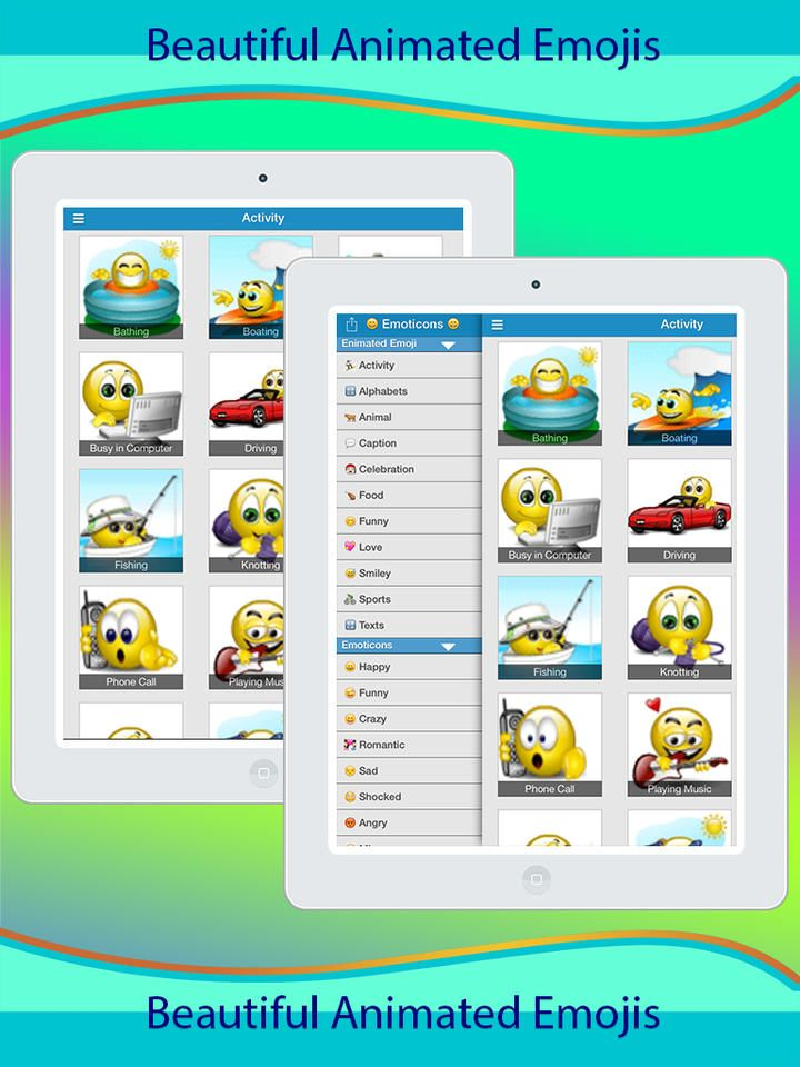 3D Animated Emoticons Emoji 3D Animated & Emoticons