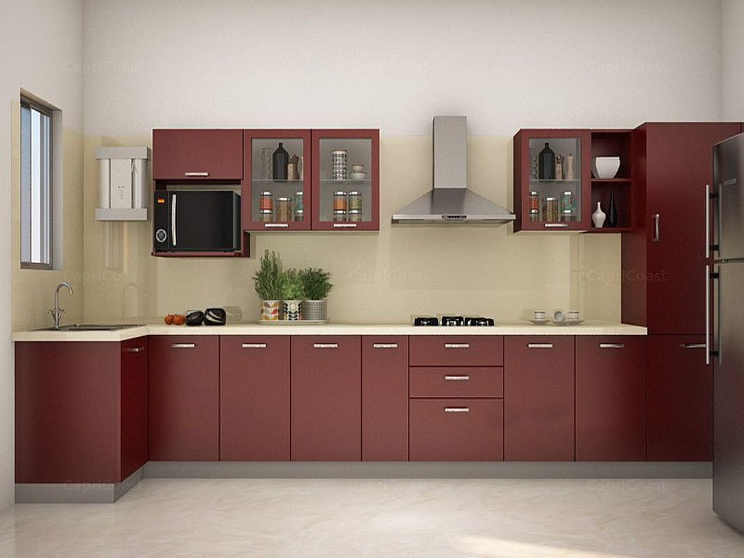 Modular Kitchen Cost Calculator In India With Kitchen Island Table