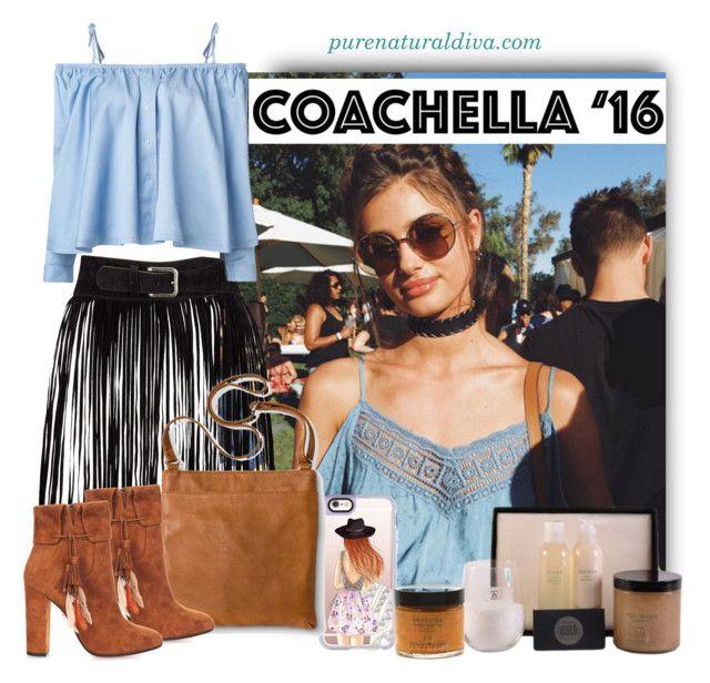 """""""Hot Coachella Style"""" by purenaturaldiva ❤ liked on Polyvore featuring Casetify, Merona, Aquazzura, Sandy Liang, naturalbeauty, organicbeauty, purenaturaldiva and bestofcoachella"""