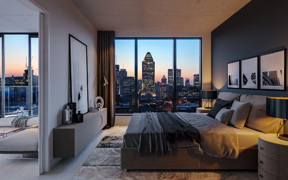 Condo In Montreal Luxury Homes Home Bedroom Condos For Sale