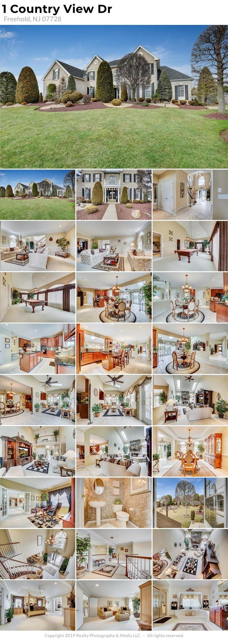 1 Country View Dr Freehold, NJ 07728 This exquisite Toll ...