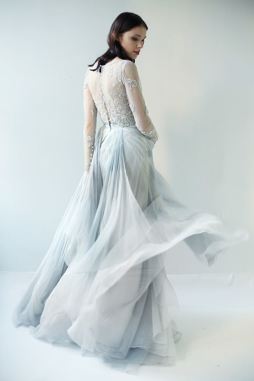 Explore Blue Wedding Gowns Weddingore Leanne Marshall