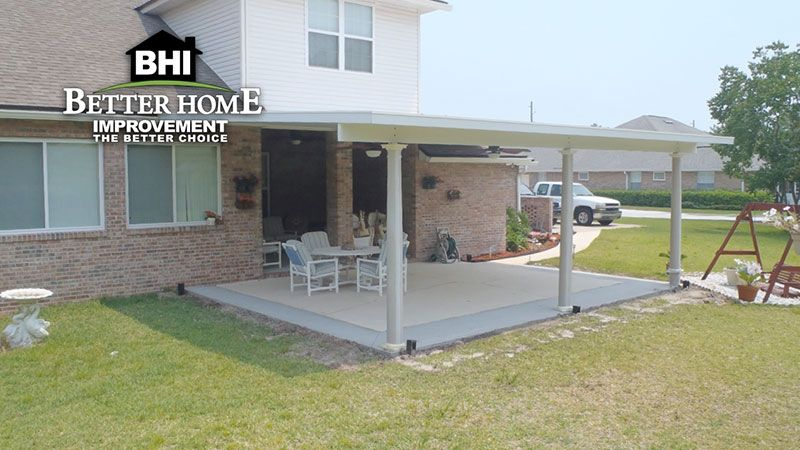 Jacksonville Patio Covers Carports Porches Covered patio