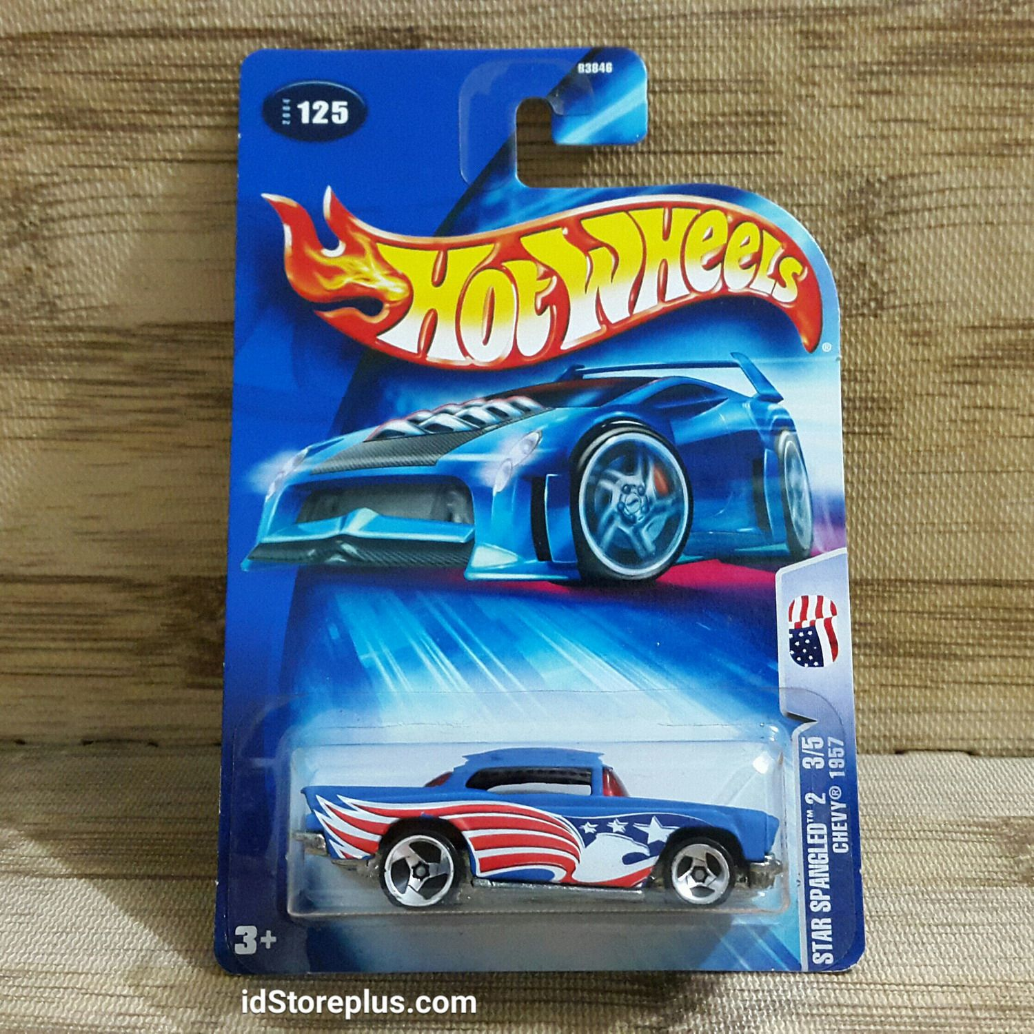 Hot wheels chevy 1957 star spangled 2 3 5