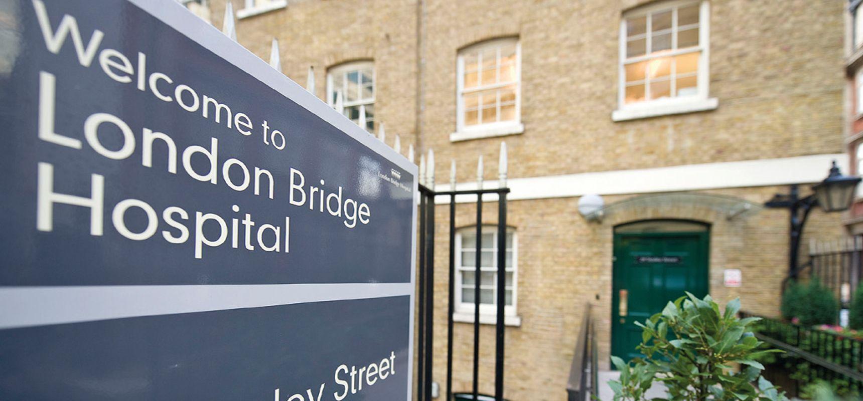 Image result for London Bridge Hospital